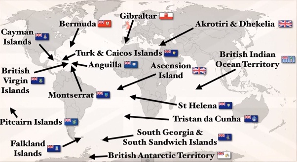 Brytyjskie terytoria zamorskie