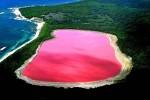 Różowe jezioro?