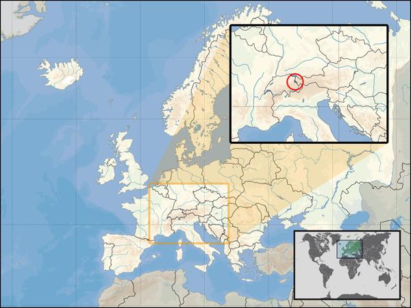 Liechtenstein - państwo podwójnie śródlądowe.