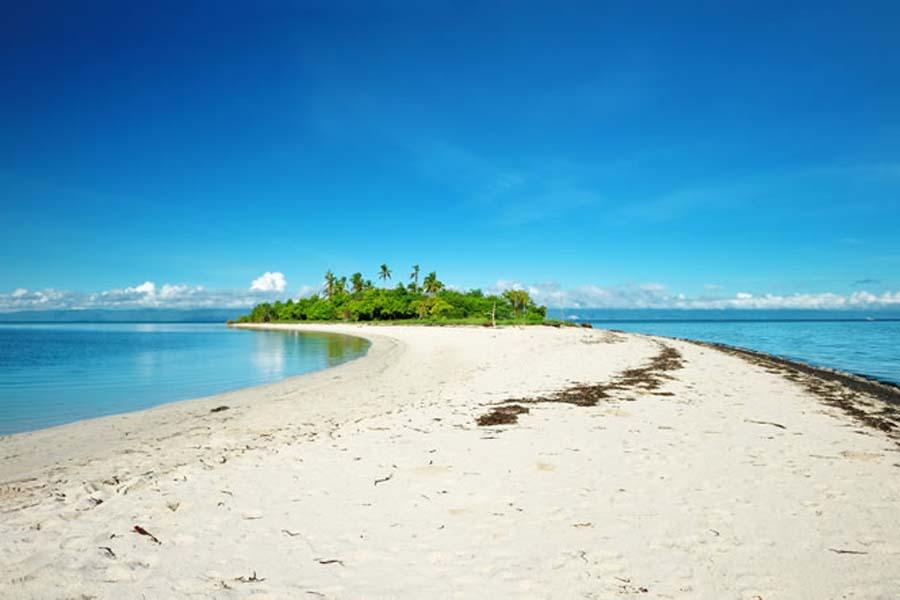 Wyspa Clipperton - plaża