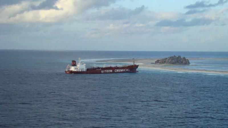 Wyspa Clipperton - tankowiec