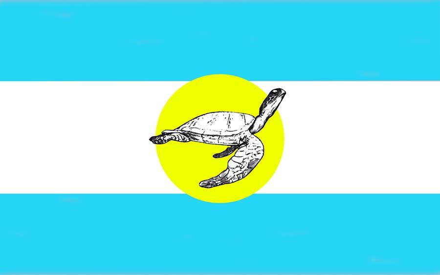 Flaga Republiki Podróży.