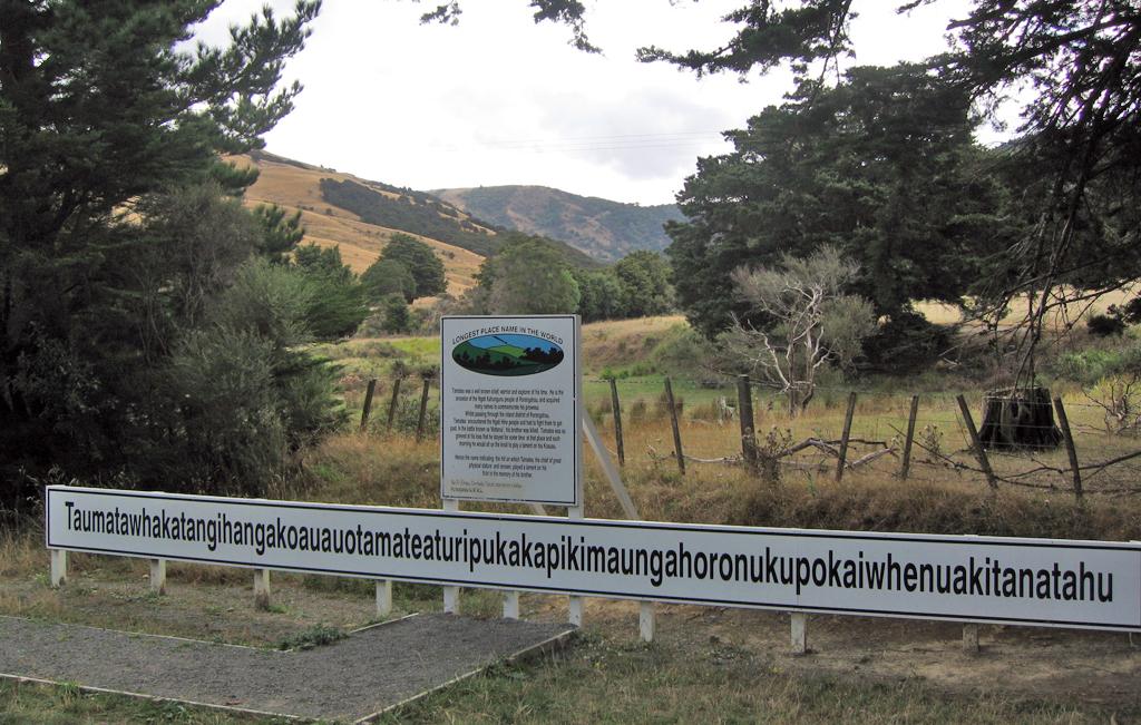 Taumatawhakatangihangakoauauotamateapokaiwhenuakitanatahu - Wzgórze w Nowej Zelandii.