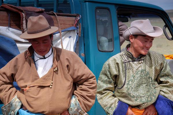 Mongolski festiwal Naadam.