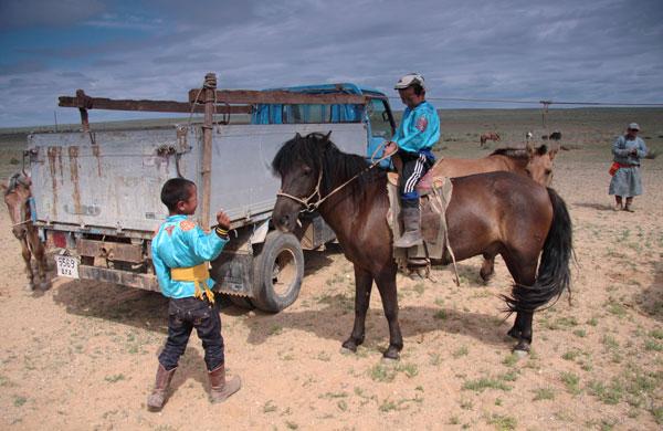 Niejednokrotnie dochodzi do biznesów związanych ze sprzedażą lub wymianą koni.