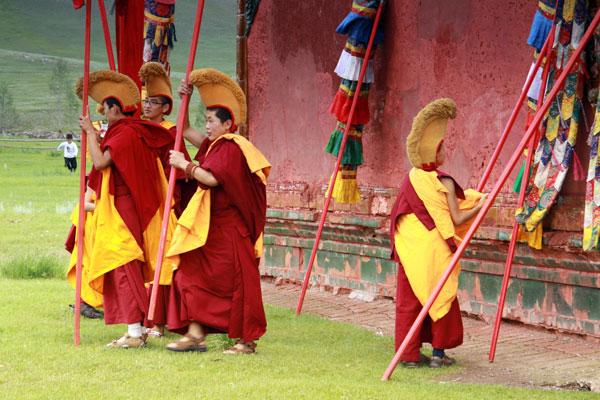 buddyjscy mnisi mongolia