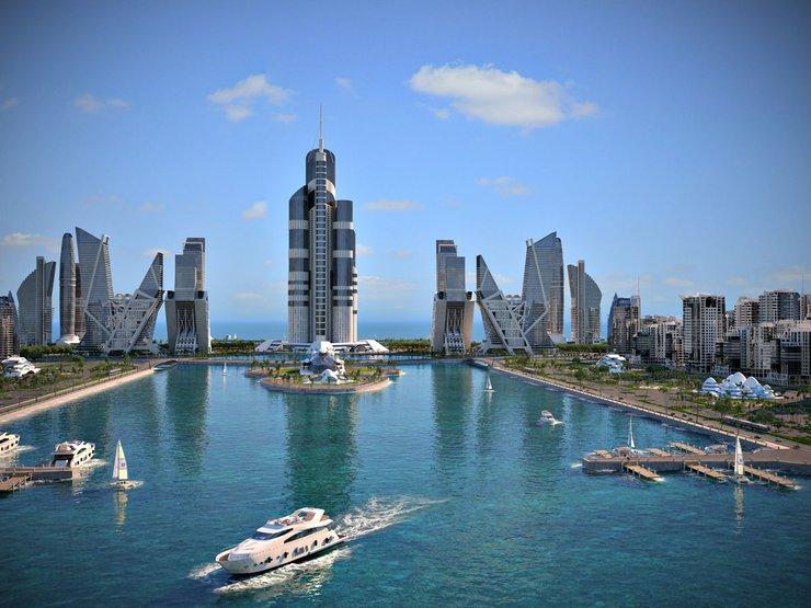 Azerbaijan Tower - najwyższy budynek świata
