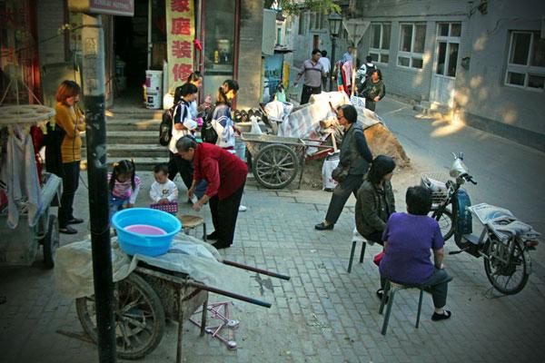 Chiny. Życie ulicy.