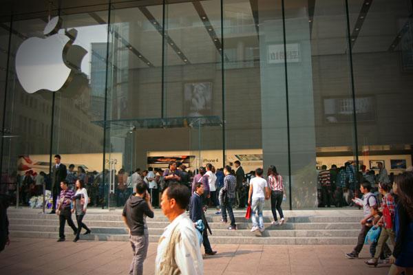 Śmierć Jobsa. Chiny.