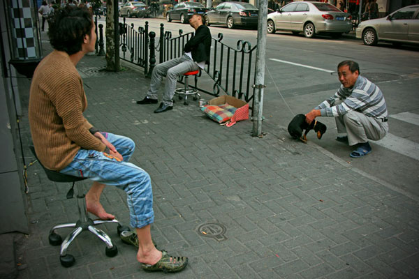 Chińskie ulice.