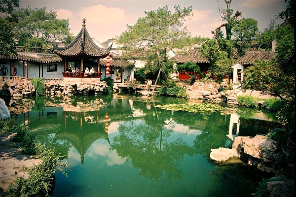 Bajeczny Ogród Mistrza Sieci w Suzhou.