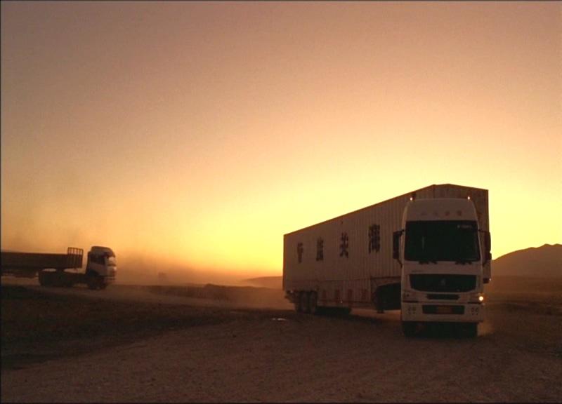 Chińskie ciężarówki