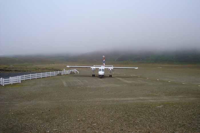Lotnisko na Wyspie Fair Isle 02