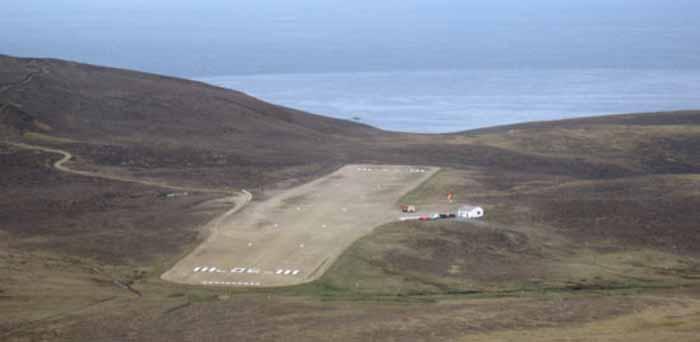 Lotnisko na Wyspie Fair Isle