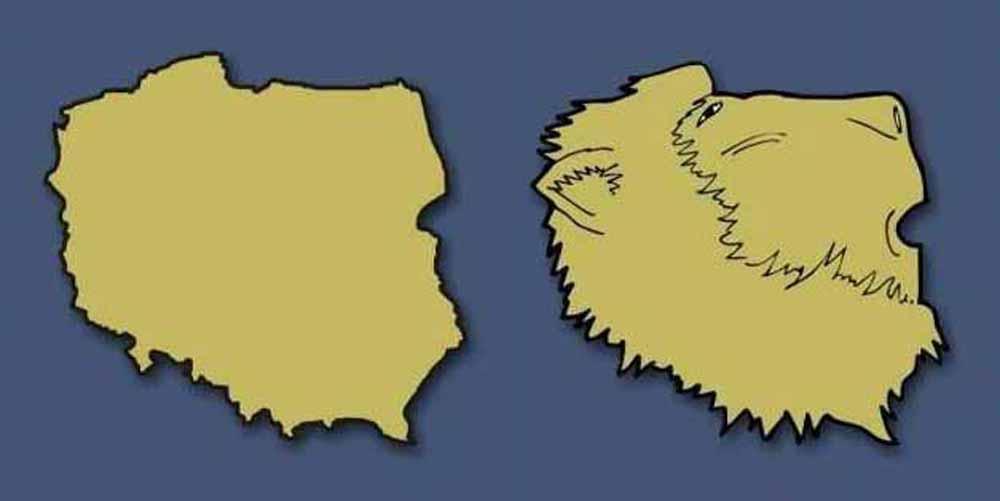 Polska - karykatura