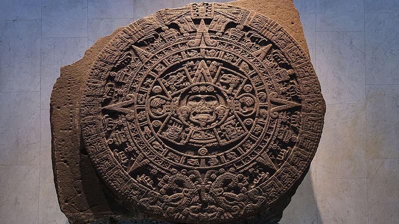 Kalendarz Azteków - Piedra del Sol - Kamień Słońca