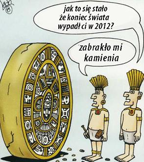 Kalendarz Majów Koniec Świata 2012