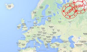 Człowiek, który odwiedził wszystkie stolice państw Europy.