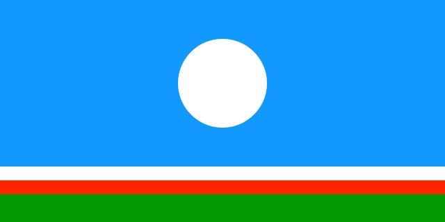 Flaga Jakucji