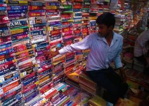 Książki o Indiach.