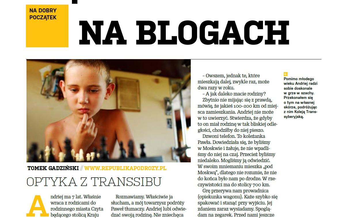 Optyka z Transsibu