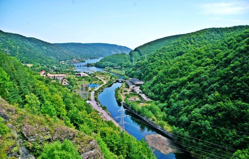 Rzeka w Rumunii