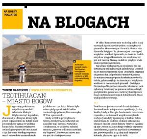 Teotihuacan  – Miasto Bogów.