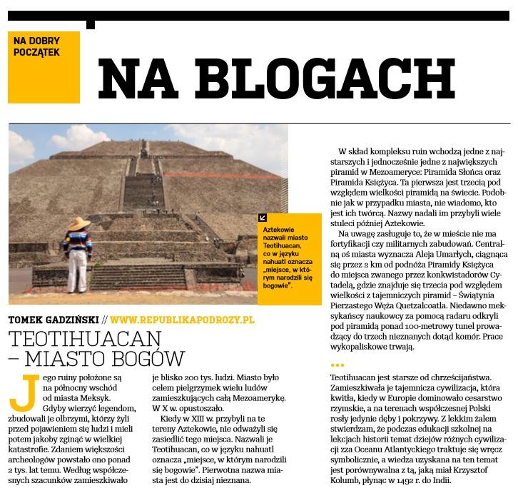 Teotihuacan - Miasto Bogów