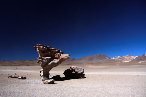 Árbol de Piedra niedaleko granicy chilijsko-boliwijskiej.