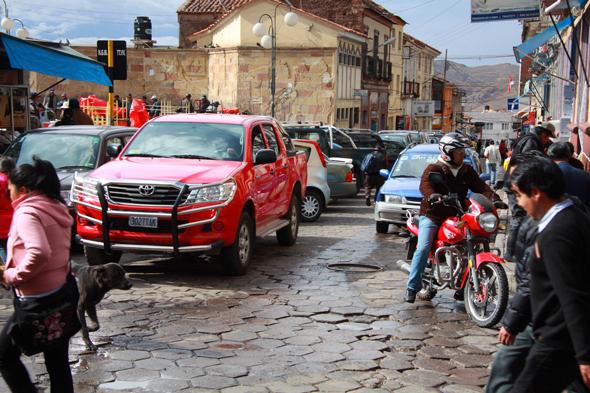 Gwarne miasteczko Potosí