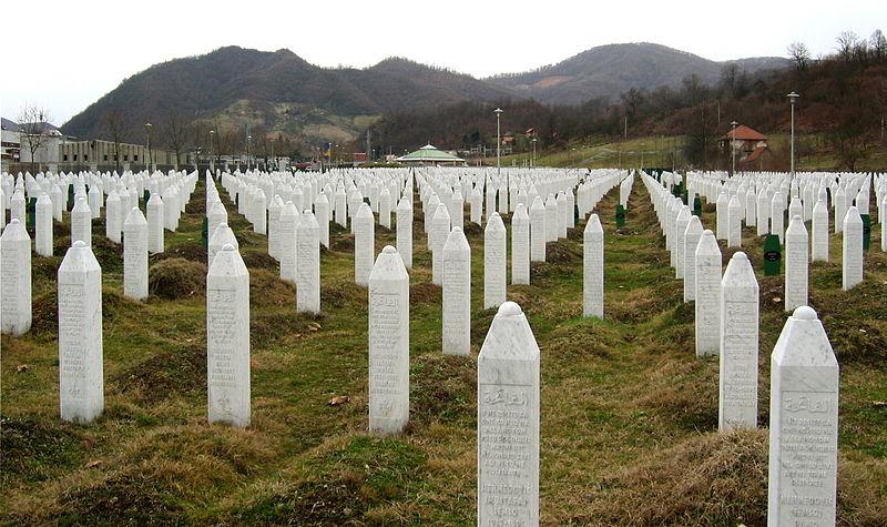 Cmentarz w Srebrenicy. Źródło: niod.knaw.nl