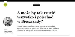 A może by tak rzucić wszystko i pojechać w Bieszczady?